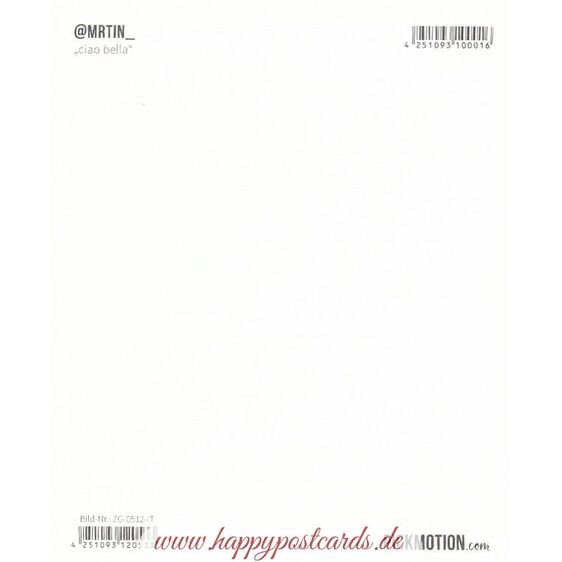 Ciao Bella- Pickmotion Postcard