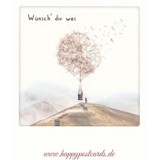 Wünsch' dir was - Pickmotion Postcard