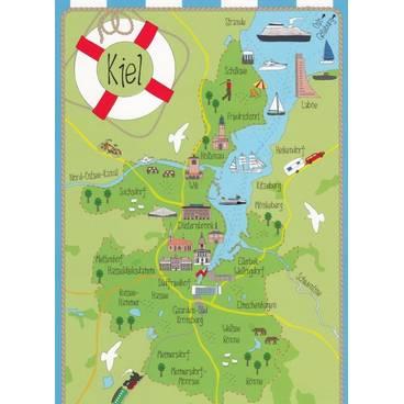 Kiel - Map