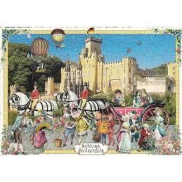 Schloss Stolzenfels - Tausendschön - Postkarte