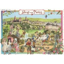 Gruß aus Mainz - Tausendschön - Postkarte