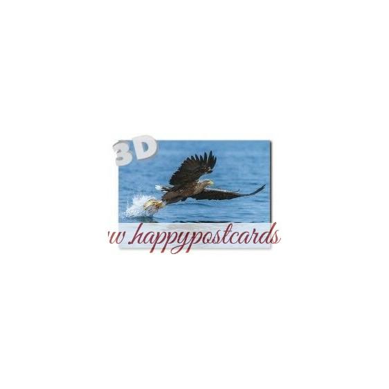 3D Tiger - Postkarte