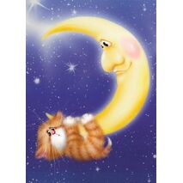 Mondschein - Alexey Dolotov - Postkarte