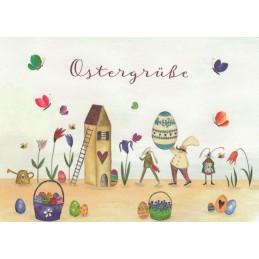 Ostergrüße - Easter - Postcard