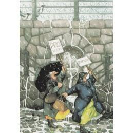 30 - Protest/ Alte Frauen im Regen
