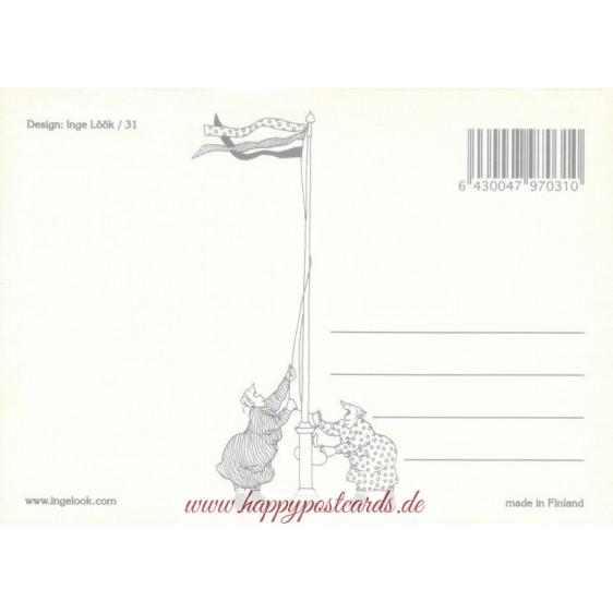 31 - Frauen singen - Postkarte