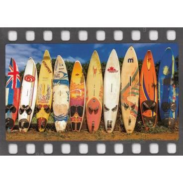 Surfbretter - Postkarte