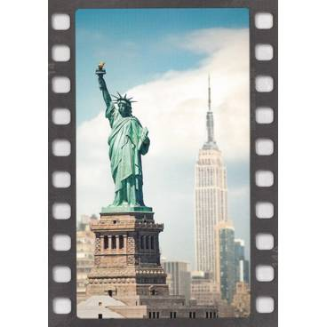 Freiheitsstatue New York - Postkarte