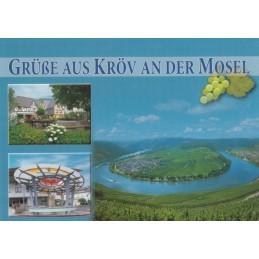 Moselloop in Kröv - Postcard