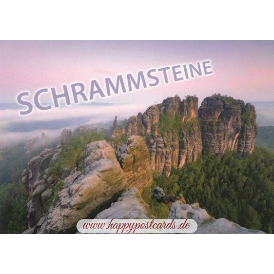 Saxon Sandstone Mountains - Postcard