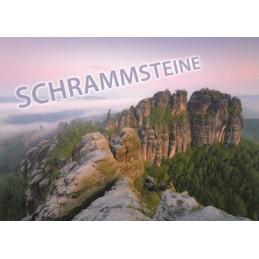 Schrammsteine - Ansichtskarte