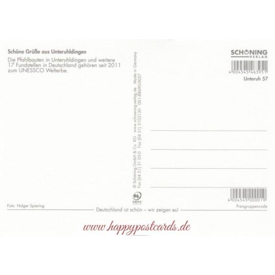 Pfahlbauten Unteruhldingen - Postkarte