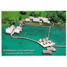 Stilt houses Unteruhldingen - Viewcard