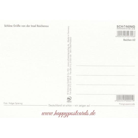 Reichenau im Bodensee - Postkarte