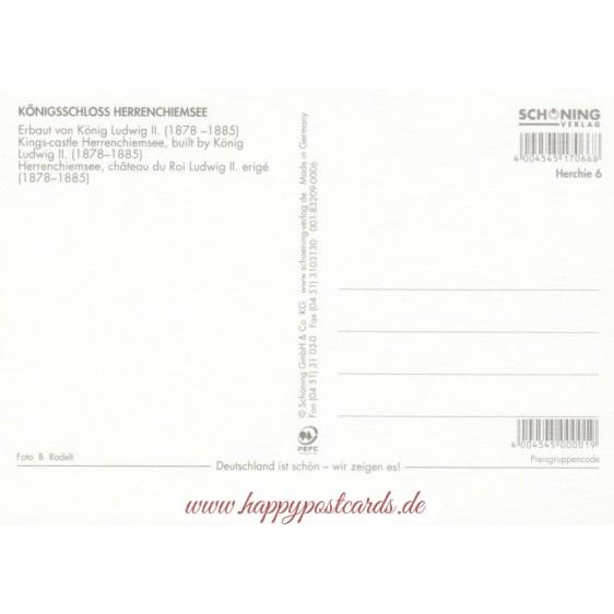 Royal Castle Herrenchiemsee - Postcard