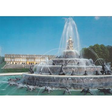 Königsschloss Herrenchiemsee - Postkarte