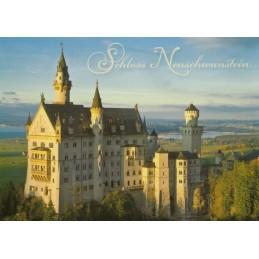 Königsschloss Neuschwanstein-2 - Ansichtskarte