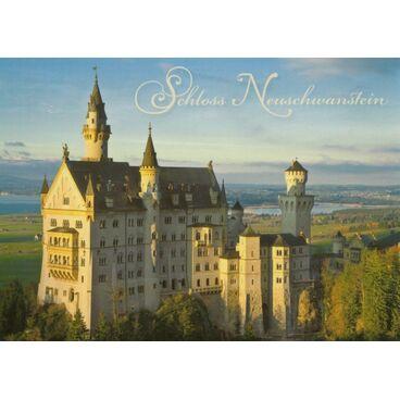 Royal Castle Neuschwanstein - Postcard