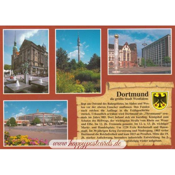 Dortmund - Chronicle - Postcard
