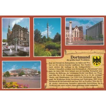 Dortmund - Chronicle - Postcard