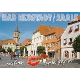 Küsschen-Bad Neustadt/Saale - Postkarte