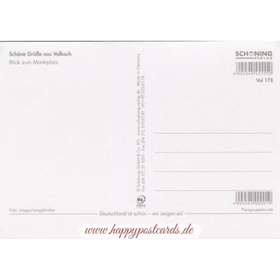 Küsschen-Volkach - Postkarte
