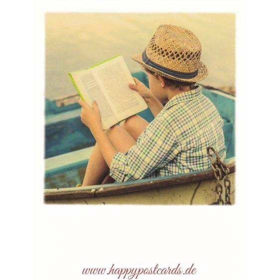 Lesen im Boot - PolaCard