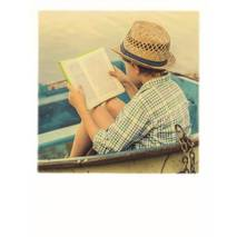 Reading in a Boat - PolaCard