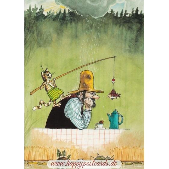 Armer Pettersson - Postkarte
