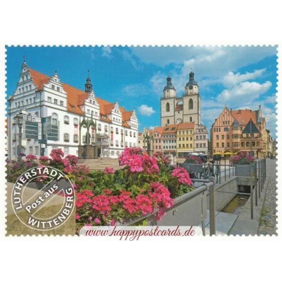 Lutherstadt Wittenberg Stadtkirche - Ansichtskarte