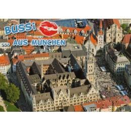 Kiss-Munich - Viewcard