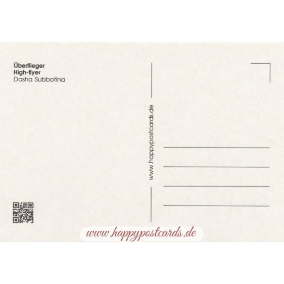 Überflieger - Postkarte