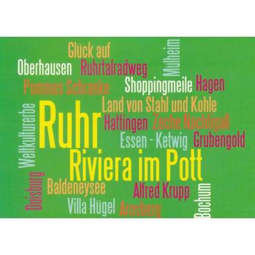 Schönes Ruhrtal - Wörterkarte