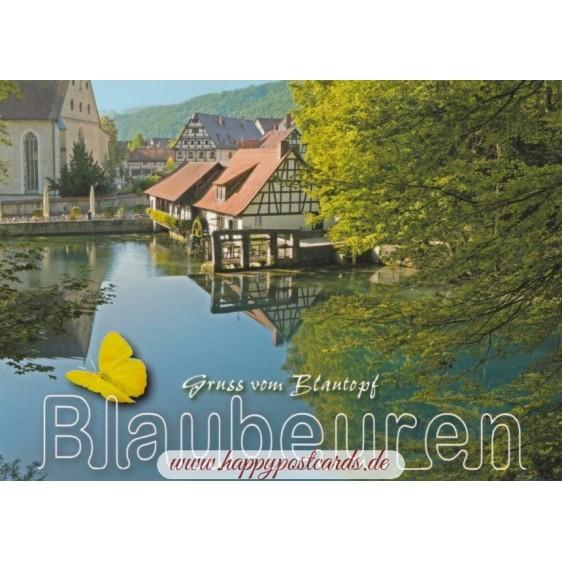 Blaubeuren Blautopf - Ansichtskarte