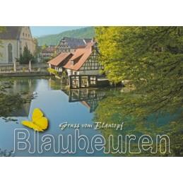Blaubeuren Blautopf - Viewcard