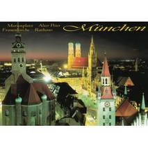 Munich Marienplatz - Viewcard