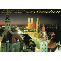 Munich Marienplatz - Viewcard