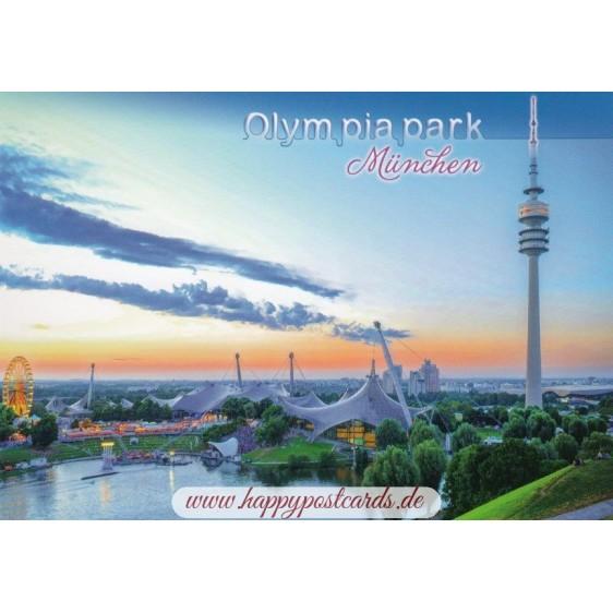 Munich Olympiapark - Viewcard