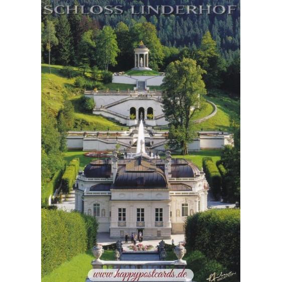 Royal Castle Linderhof 2 - Viewcard