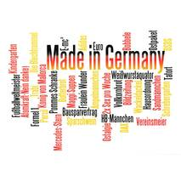 Made in Germany - Wörterkarte