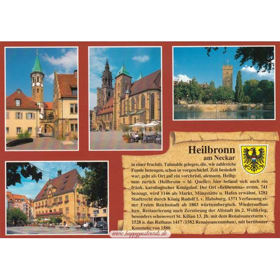 Heilbronn - Chronicle - Viewcard