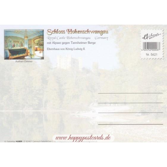 Royal Castle Hohenschwangau 2 - Viewcard