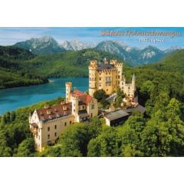 Königsschloss Hohenschwangau 2 - Ansichtskarte