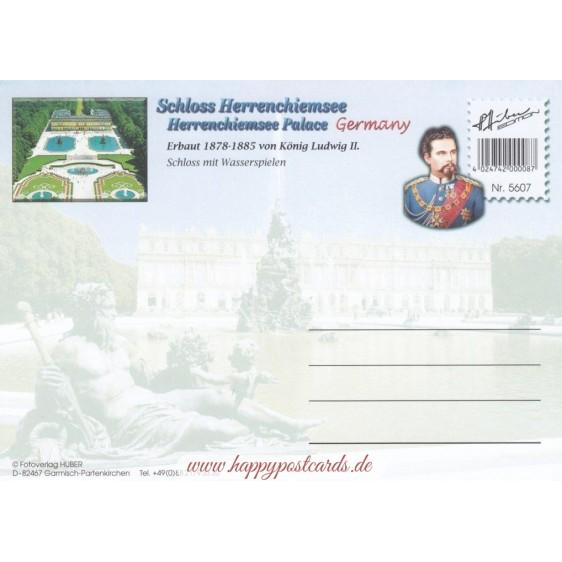 Schloss Herrenchiemsee 2 - Ansichtskarte