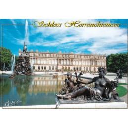 Castle Herrenchiemsee 2 - Viewcard