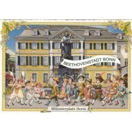 Bonn Münsterplatz - Tausendschön - Postcard