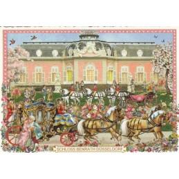 Düsseldorf Schloss Benrath - Tausendschön - Postcard