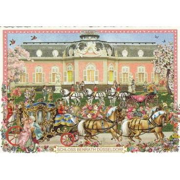 Düsseldorf Schloss Benrath - Tausendschön - Postkarte
