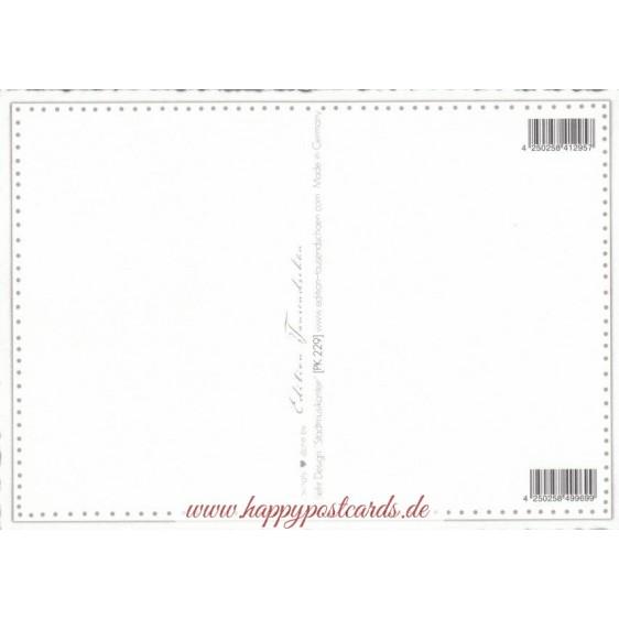 Bremen Stadtmusikanten - Tausendschön - Postkarte