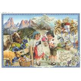 Bavaria - Tausendschön - Postcard